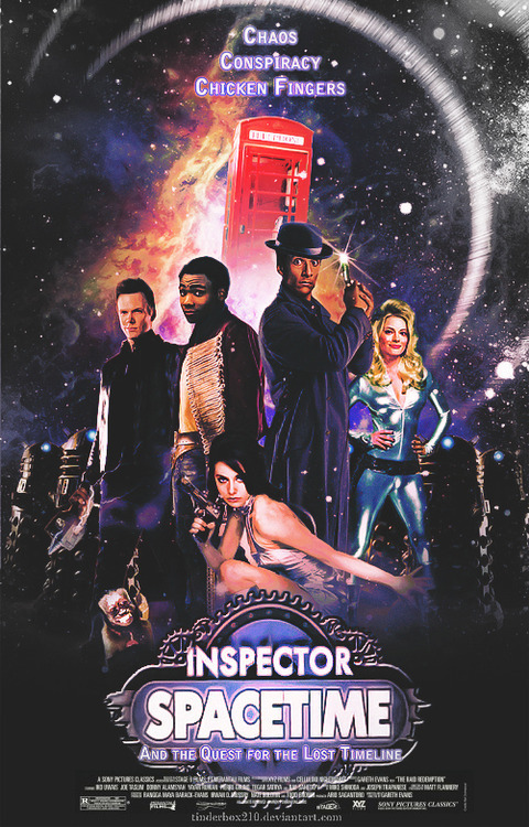 all-things-alison-brie:  Inspector Spacetime poster by  ~tinderbox210