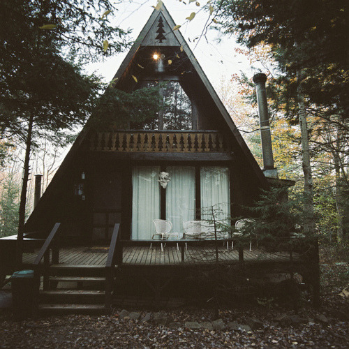 I could do with a house like this in a forest far away from people
