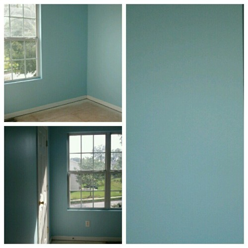 Painting! #newhouse #nofilter #tropicalbreeze (Taken with Instagram)