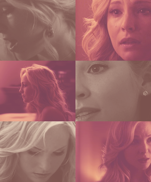 "trustingdesires:  A-Z of favourite characters → Caroline Forbes  ""I'm not girly little Caroline anymore."""