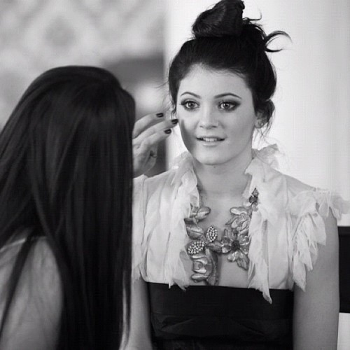 Another shot of #KylieJenner #blackandwhite #celebrity #jenner #kardashian  (Taken with Instagram)