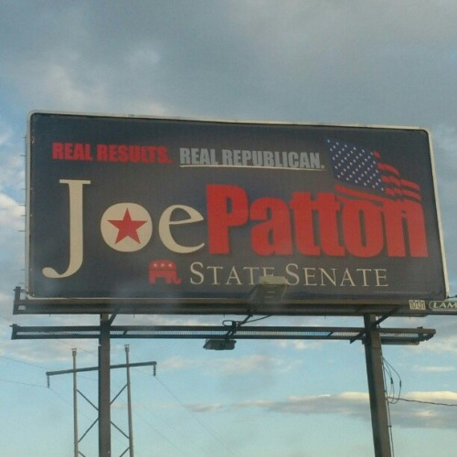 Vote Joe Patton on August 7. #ksleg #kstcot (Taken with Instagram)