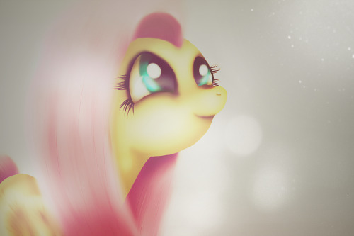Waiting By Fra-92 http://fra-92.deviantart.com/art/Fluttershy-Waiting-287804586