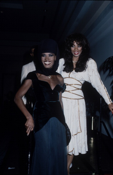 Musical royalty …  restti:  Donna Summer & Grace Jones