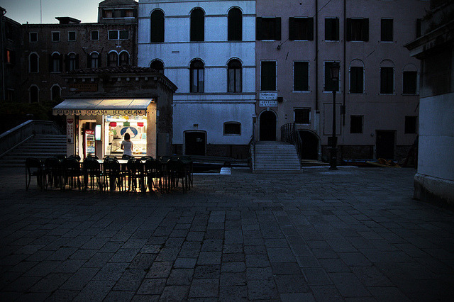 | ♕ |  Piazzetta at dusk - Venice  | by © Roland