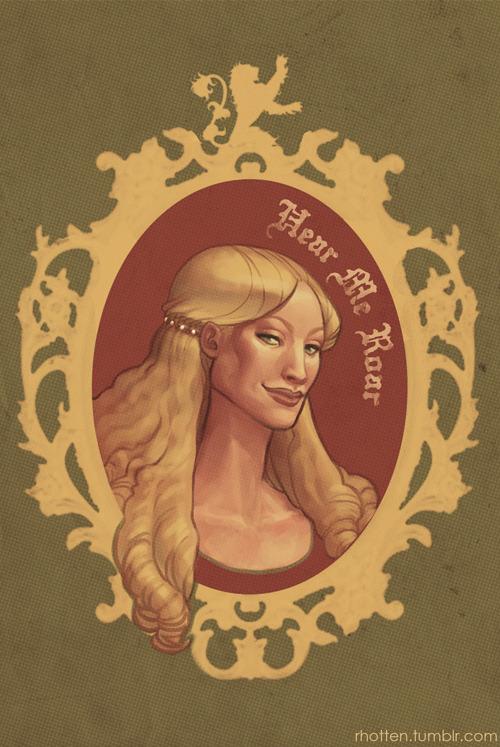 heliotropa:  Rawr, Cersei!