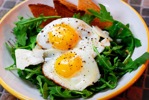 skinnyfoodielife:  Breakfast salad