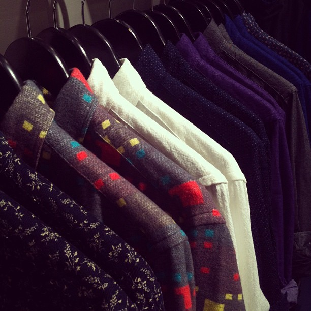 We're already bracing ourselves: Gitman Bros. Vintage's first fall shirts have arrived at both our stores. Please don't trample each other trying to get your hands on them, dudes.
