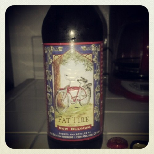 Fat Tire! #beer  (Taken with Instagram)