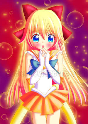 Very sweet Sailor Venus