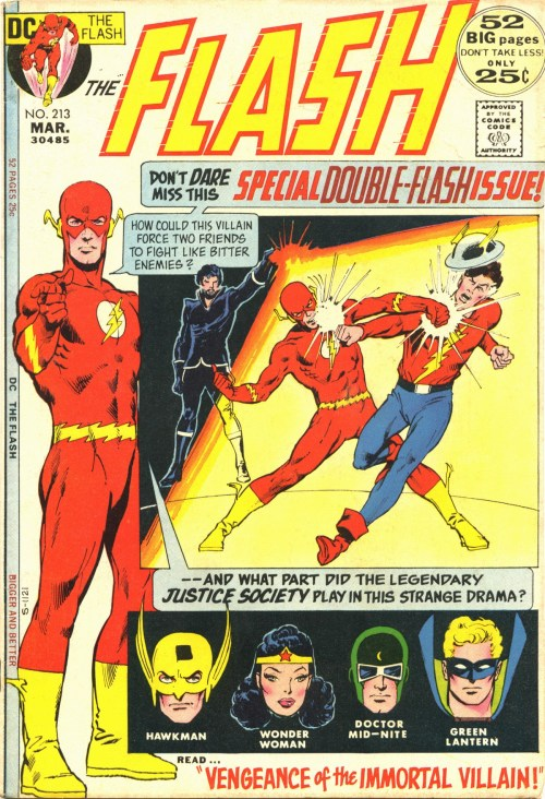 Flash #213, March 1972, cover by Carmine Infantino and Dick Giordano