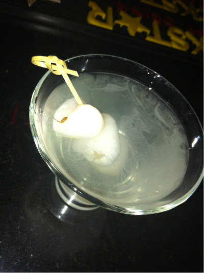 Lychee martini at Asian Spice Route