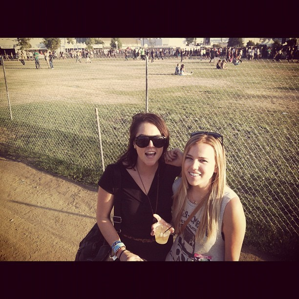 Livin it @thisisleelee  (Taken with Instagram at HARD Summer 2012)