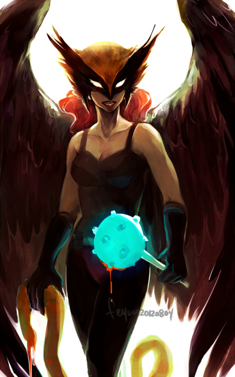 woahh Hawkgirl is so cool looking