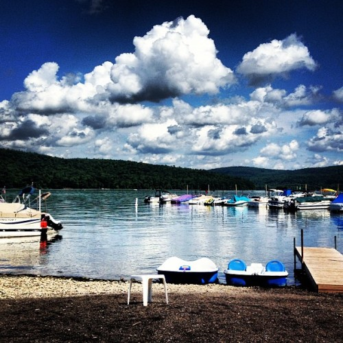 Lake Otsego, NY. (Taken with Instagram)