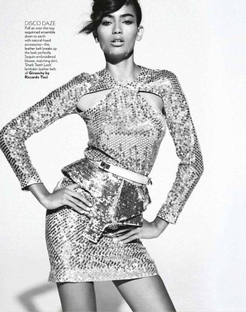 modelsofcolor:   Kelly Gale in Vogue India's August 2012 by Mark Pillai.