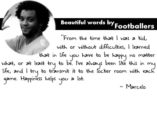 Footballer Words: Marcelo  Submitted by: spain-miamor