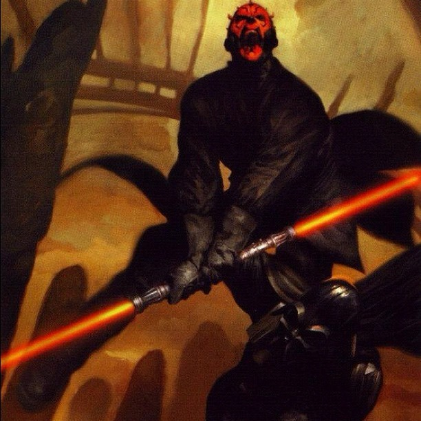 As I've said many times before darth maul is better than Vader. #starwars #sith #sithlord  (Taken with Instagram at The Dungeon (Mephisto's))