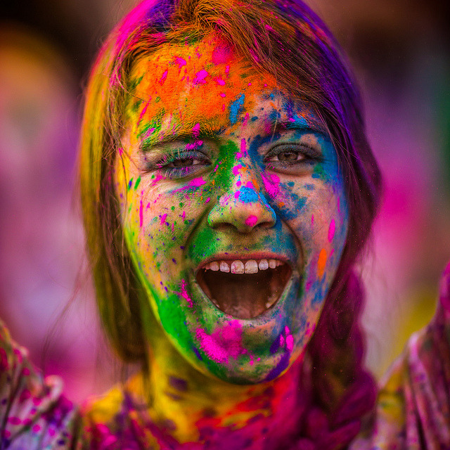 All She Ever Made by Thomas Hawk on Flickr.Festival of Colors 2012