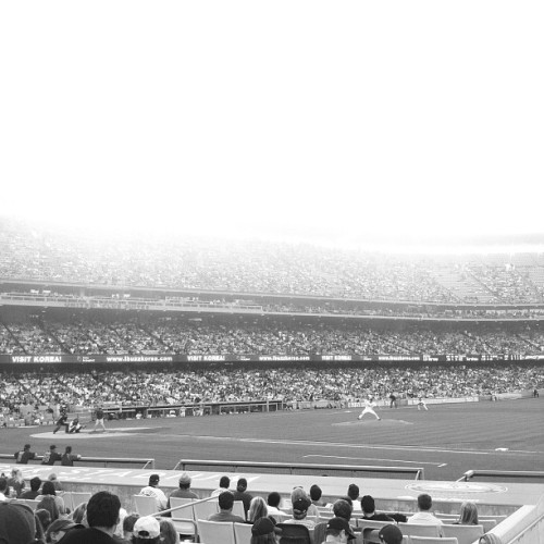 dodgers v. cubs :) (Taken with Instagram)