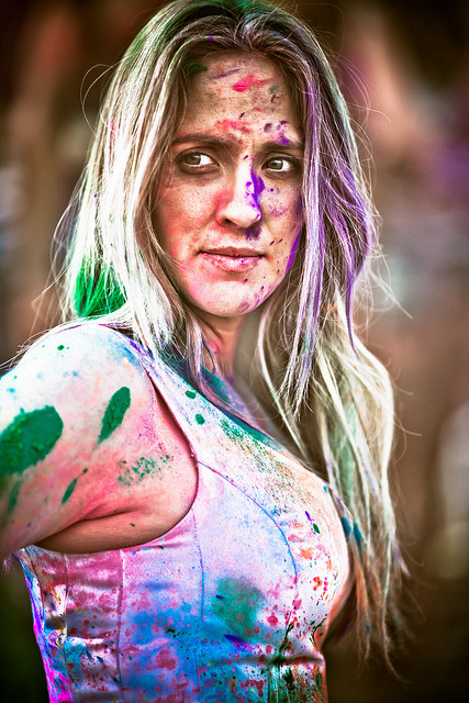 Kati by Thomas Hawk on Flickr.Festival of Colors 2012