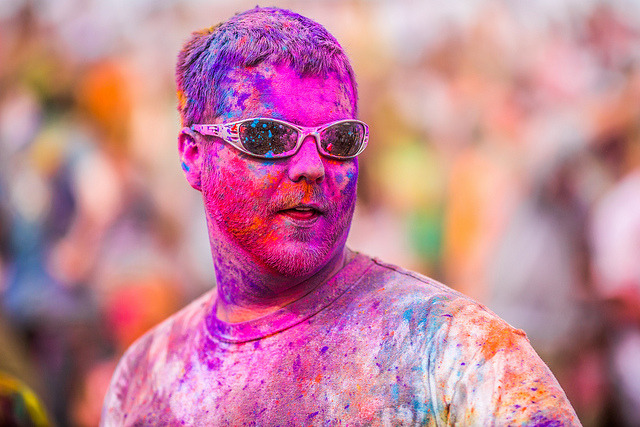 Festival of Colors, Spanish Fork, UT by Thomas Hawk on Flickr. Festival of Colors 2012