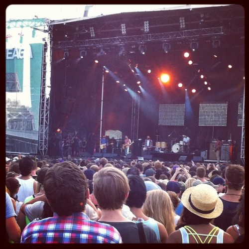 Brand New #brandnew #osheaga #canada #montreal #live #music #band #concert #crowd (Taken with Instagram)