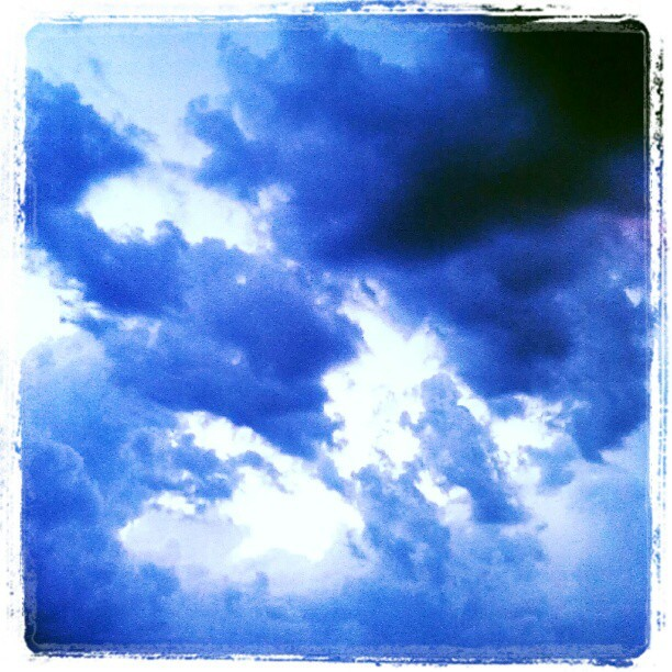 Little storms #sky #storm #clouds #cloudporn #rain (Taken with Instagram)