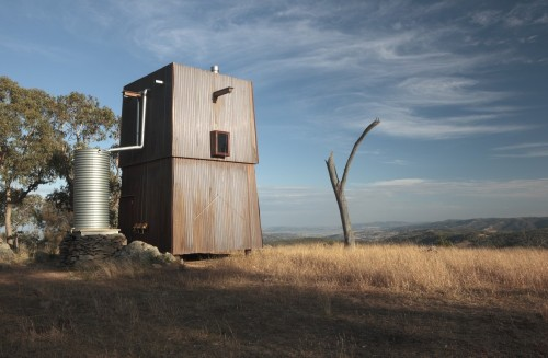 cabinporn:  'Permanent Camping' in Mudgee, Australia by Casey Brown Architects.