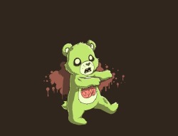 -zombie teddy bear-