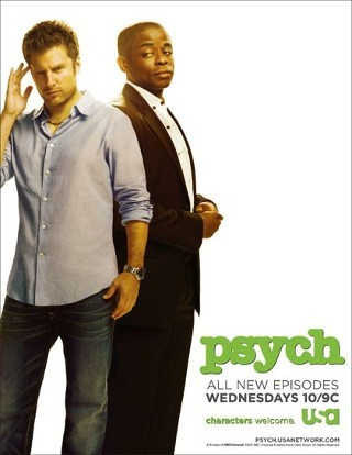 I am watching Psych                                                  357 others are also watching                       Psych on GetGlue.com