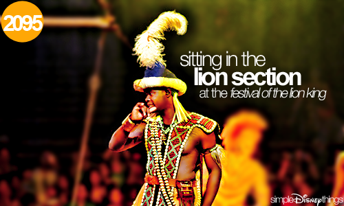 "simpledisneythings:  Obviously, everyone wants to sit with Simba and Nakawa (aka ""good-looking"")."