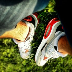 Have A Seat With Me Pt. 2 #NIke #airMAX #GRASS #SWAG  (Taken with Instagram)