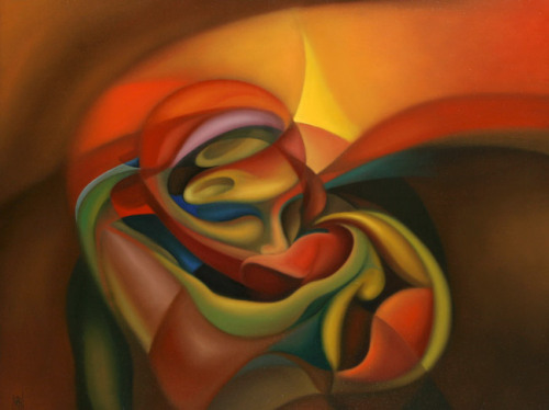 The Kiss  by  Armando Alemdar Ara*oil painting on linen*