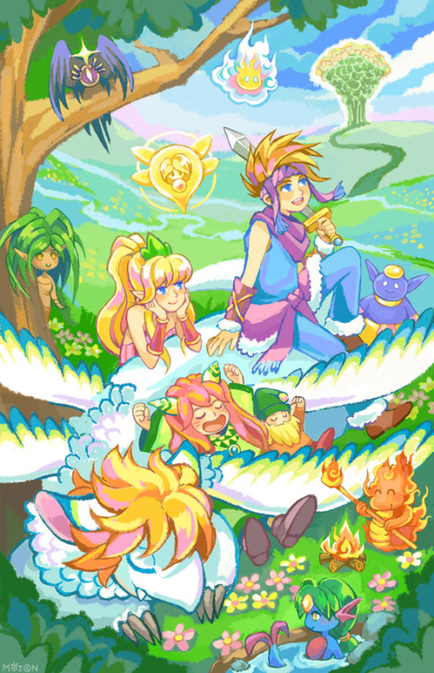 mojgon:  Secret of Mana, my favorite video game of all time.  its like what dreams are made of!