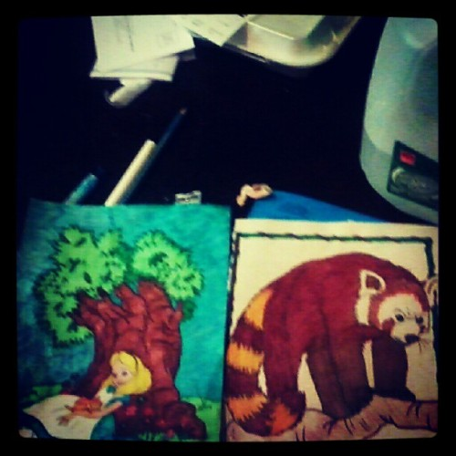 Coloring is so kool lol (Taken with Instagram)