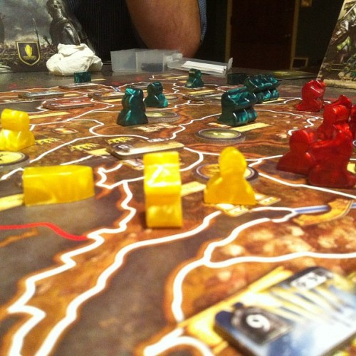 AGoT #boardgames #gamenight  (Taken with Instagram)