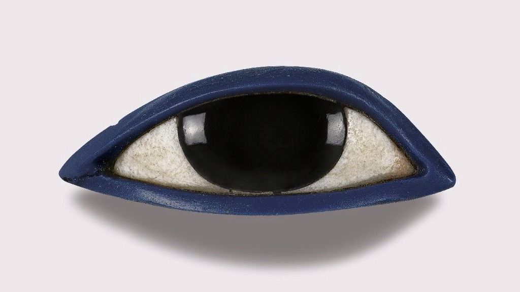 Right Eye from an Anthropoid Coffin - Egypt, circa 1535 BCE