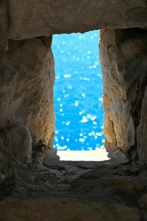 bluepueblo:  Blue Portal, Dubrovnik, Croatia photo by phuket  #Croatia.Beautiful