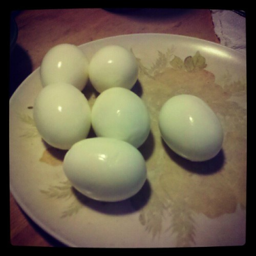 Protein, anyone? #protein #eggs #health #nutrition #fitness #food  (Taken with Instagram)