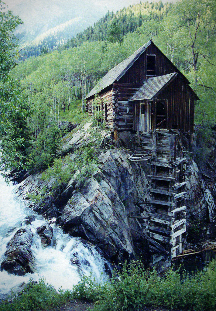 crucium:  Crystal River Mill - Colorado (by Rob Lee)