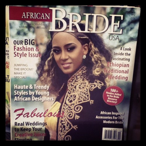 rahweeta:  USA trying to capitalize on African customs again….Ethiopian weddings are undeniably beautiful but they go so much deeper than the aesthetics. Don't sport the look if you don't follow or understand the customs.