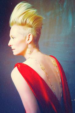 Tilda Swinton my edit tse ts100 POMELLATO jewellery