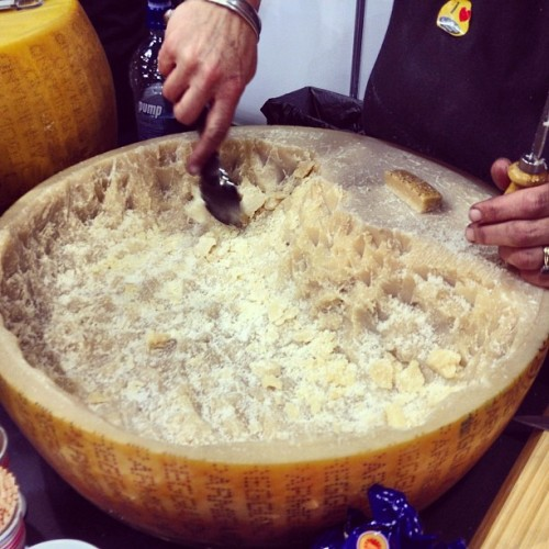 Cheese! :) #food #show #auckland #nz  (Taken with Instagram at Food Show Auckland)