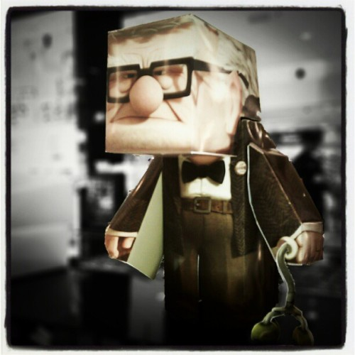 #up #diy #toys #cartoon  (Taken with Instagram)