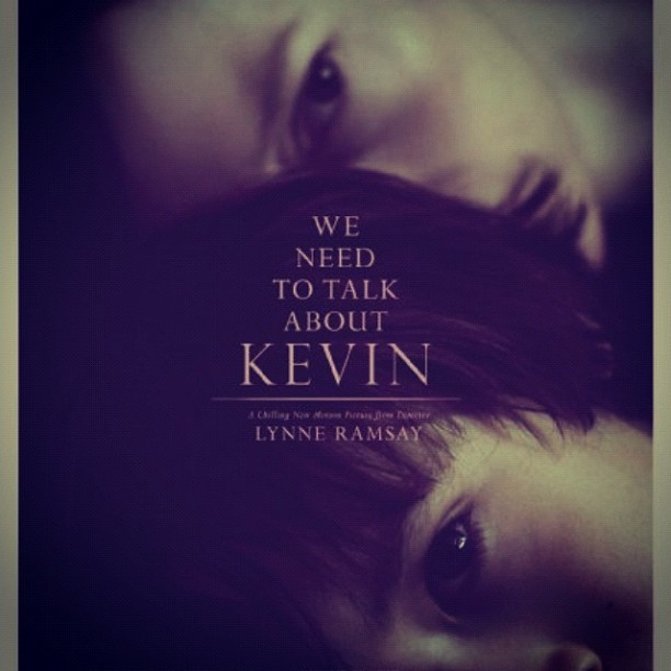 Incredible movie. Truly chilling and expertly made. #WeNeedToTalkAboutKevin (Taken with Instagram)