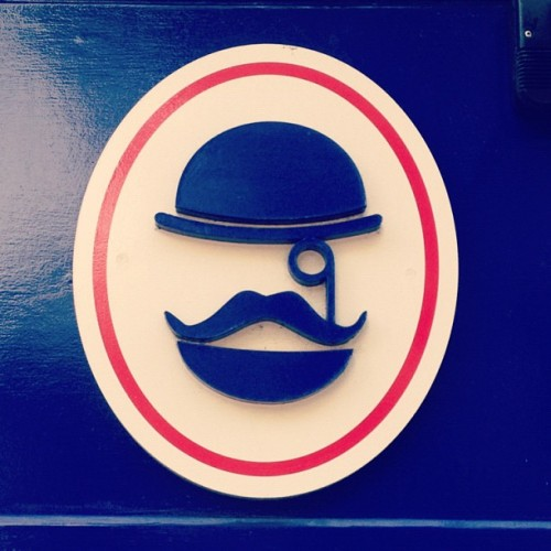 Moustache. #lebarbe #reigate #moustache #sign #hat (Taken with Instagram)
