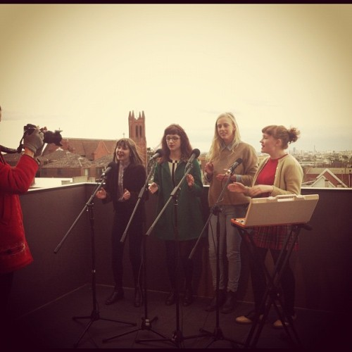 The Darjeelings on balcony tv melbourne #balconytv #music @balconytvglobal #melbourne #northcote  (Taken with Instagram)