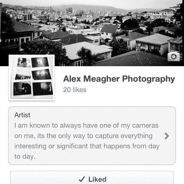 Go like me on Facebook. Rad! www.facebook.com/AlexMeagherPhotography (Taken with Instagram)