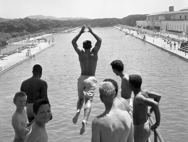 Fleishhacker Pool. San Francisco, 1961.